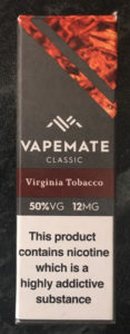 Virginia Tobacco Eliquid Box