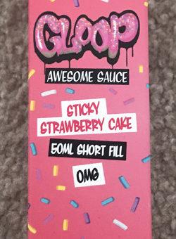 Gloop Sticky Strawberry Cake Box