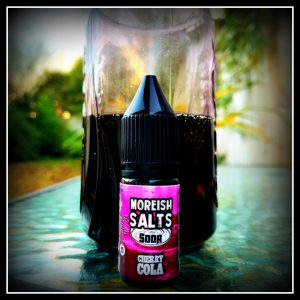 Cherry Cola Moreish Salts Soda