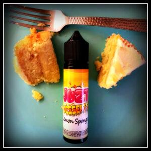 Lemon Sponge by Juzt Desserts