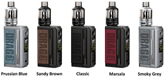 Voopoo Drag 3 Colours