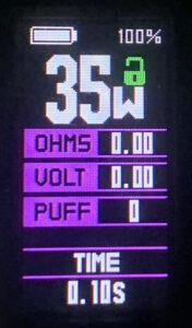 Wotofo SMRT Manik Display Screen