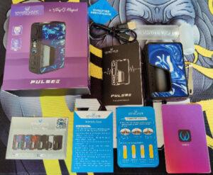 Vandy Vape Pulse V2 Box Contents