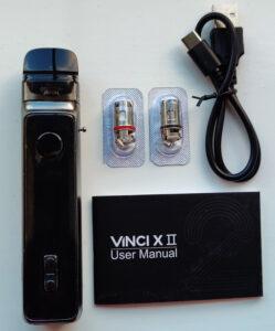 Voopoo Vinci X 2 Contents