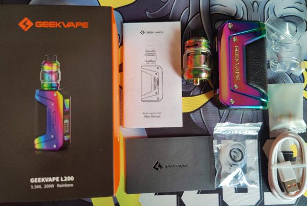 L200 Legend 2 Kit Contents