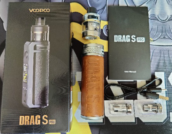 Voopoo Drag S Pro Kit Contents