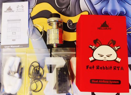 Fat Rabbit RTA Box Contents