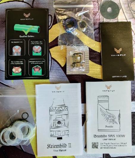 Vapefly Brunhilde Kit Contents
