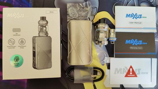 Freemax Maxus Kit Contents